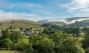 Kettlewell nestled in Wharfedale in the Yorkshire Dales