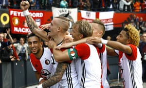Feyenoord need one win from their final two Eredivise games to be assured of the Dutch title and ensure their current crop of players can party like it's 1999.