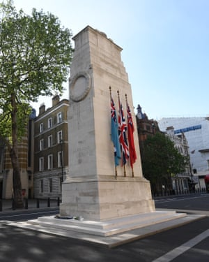 'Abstract image of infinite loss' … the Cenotaph in Whitehall.