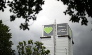 Grenfell tower two years after the fire.