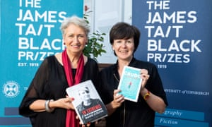 James Tait Black prize winners Lindsey Hilsum and Olivia Laing in Edinburgh, August 2019