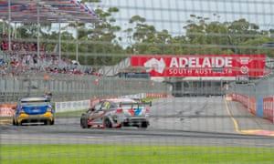 Like a swarm of hornets … the Adelaide 500