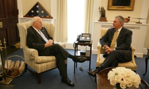 Dick Cheney and Rex Tillerson.