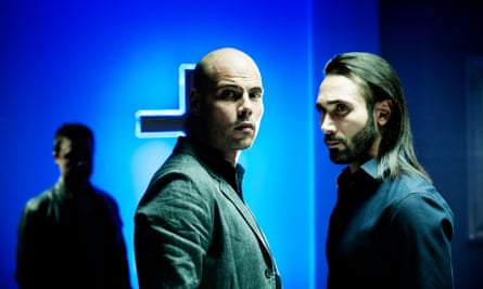 Ciro (Marco D'Amore) and Conte (Marco Palvetti) in the new series of Gomorrah.