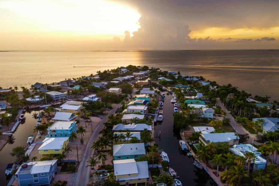 The neighborhood of Stillwright Point in Key Largo, Florida.