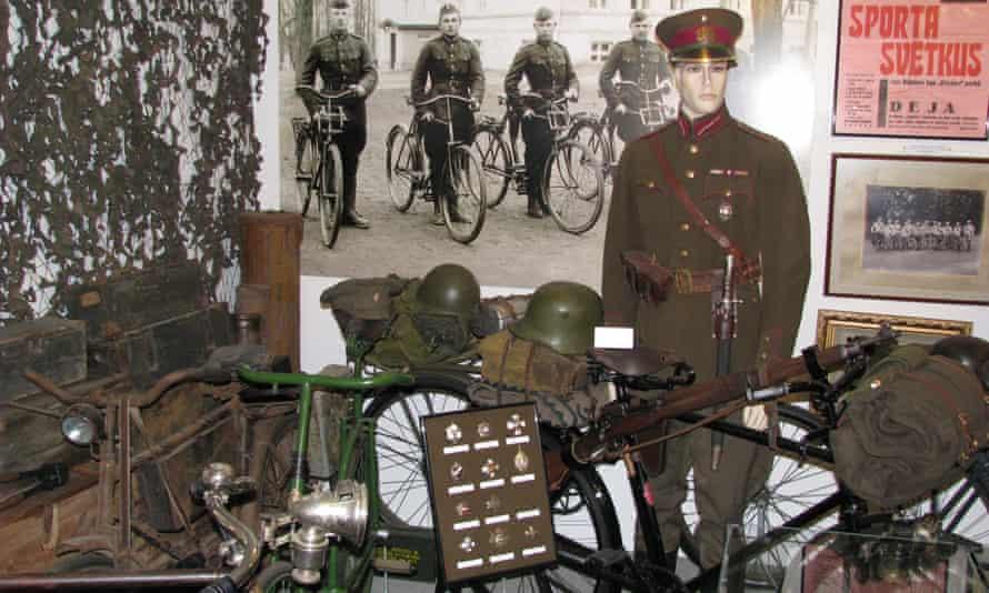 Saulkrasti bicycle museum.