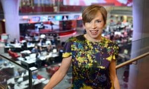 Fran Unsworth, the BBC's new head of news.