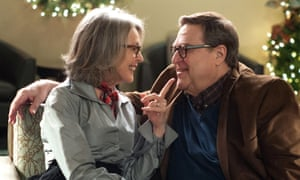 Crisis? What crisis? … Diane Keaton and John Goodman in Christmas With the Coopers.