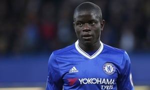 N'Golo Kanté will receive the prestigious FWA accolade at a gala dinner this month.
