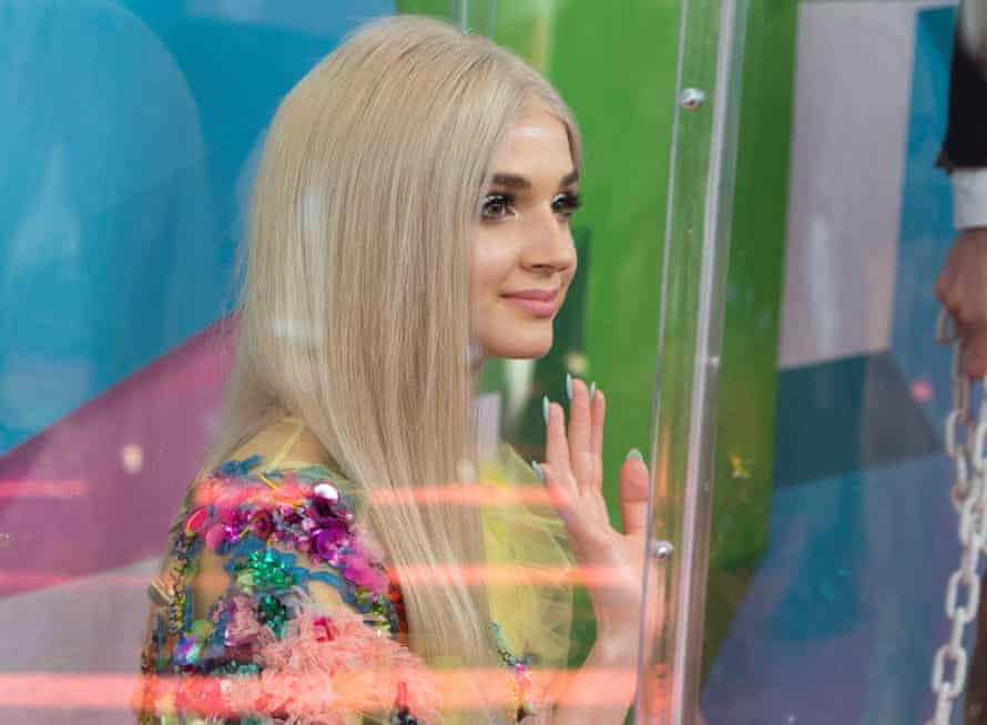 Poppy at the 7th annual Streamy awards in September.