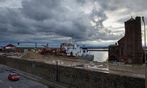 Bramley Moore dock.