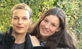 Laura Godfrey-Isaacs, left, and her daughter, Mirabelle.