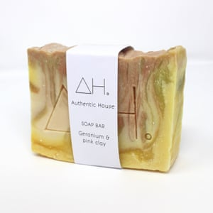 Natural clay soap bar, GBP5, Authentic House