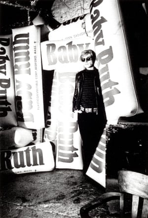 Andy Warhol with giant Baby Ruth bars, 1966 All photographs: Billy Name/Reel Art Press