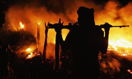 Janjaweed Militia Continues to Destroy Villages in Darfur