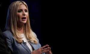 Ivanka Trump speaks during an Axios360 News Shapers event Thursday at the Newseum in Washington DC.
