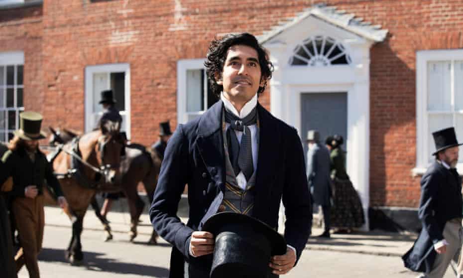 Dev Patel as David Copperfield.
