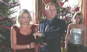 Amanda Redman, Peter Davison and Sarah Churm in At Home With the Braithwaites.