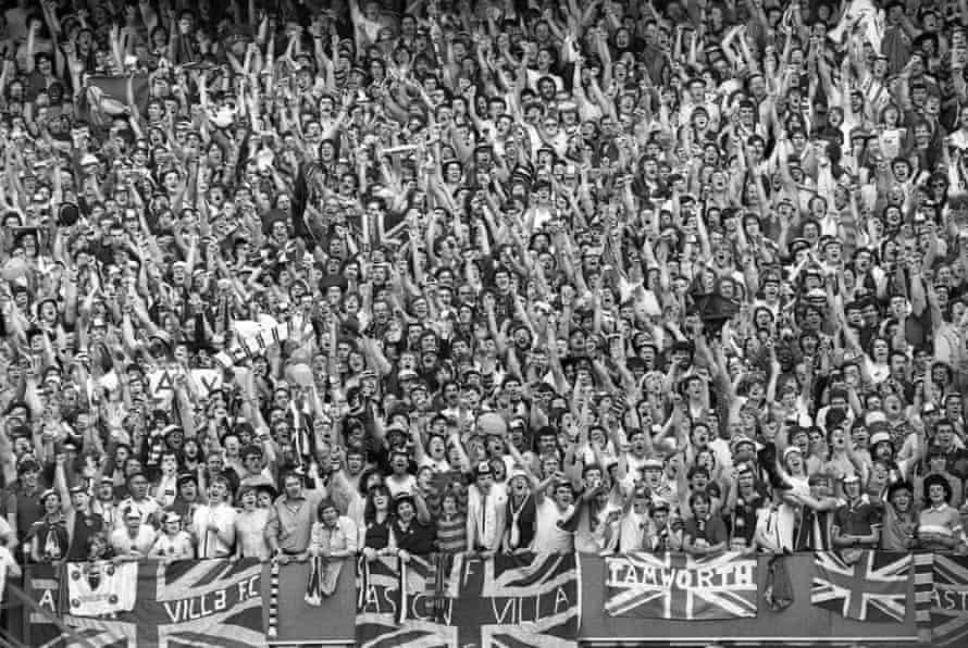 Villa supporters in Rotterdam.