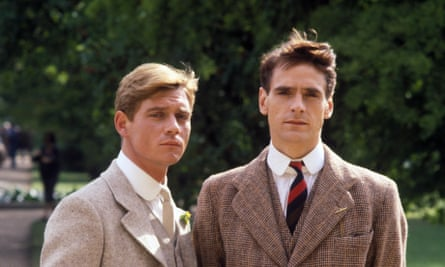 Anthony Andrews and Jeremy Irons