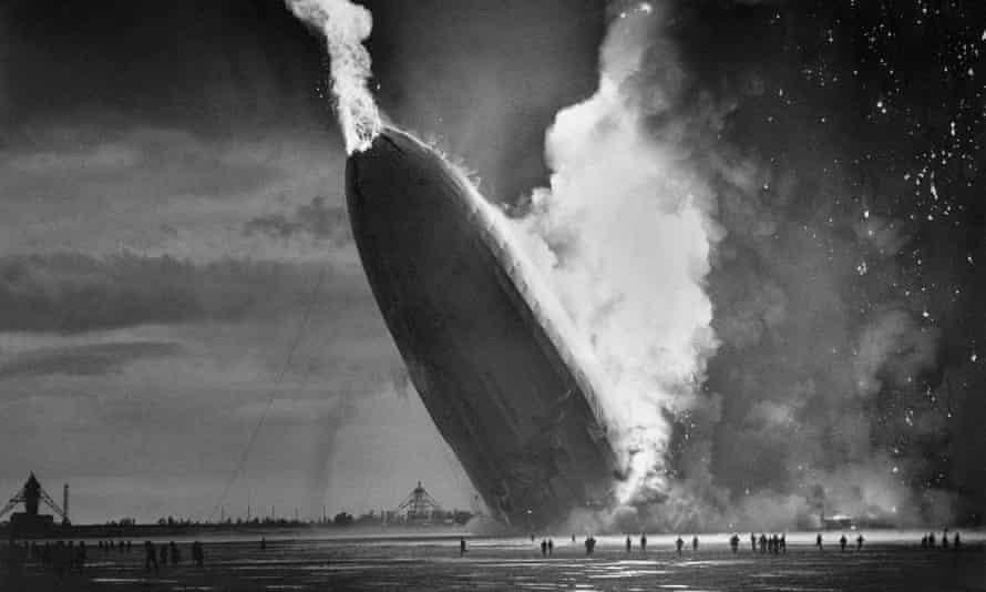 The Hindenburg crashed on 6 May 1937.