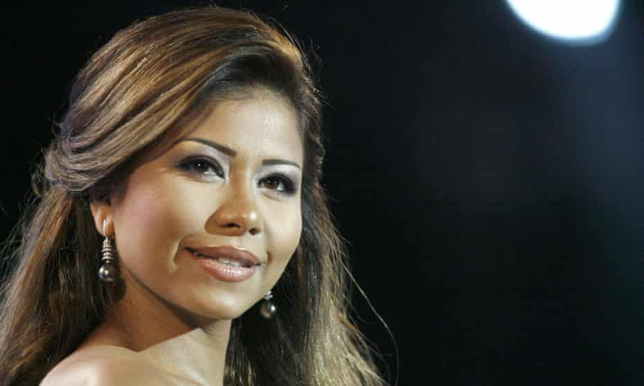 Sherine Abdel Wahab during a performance in Tunisia