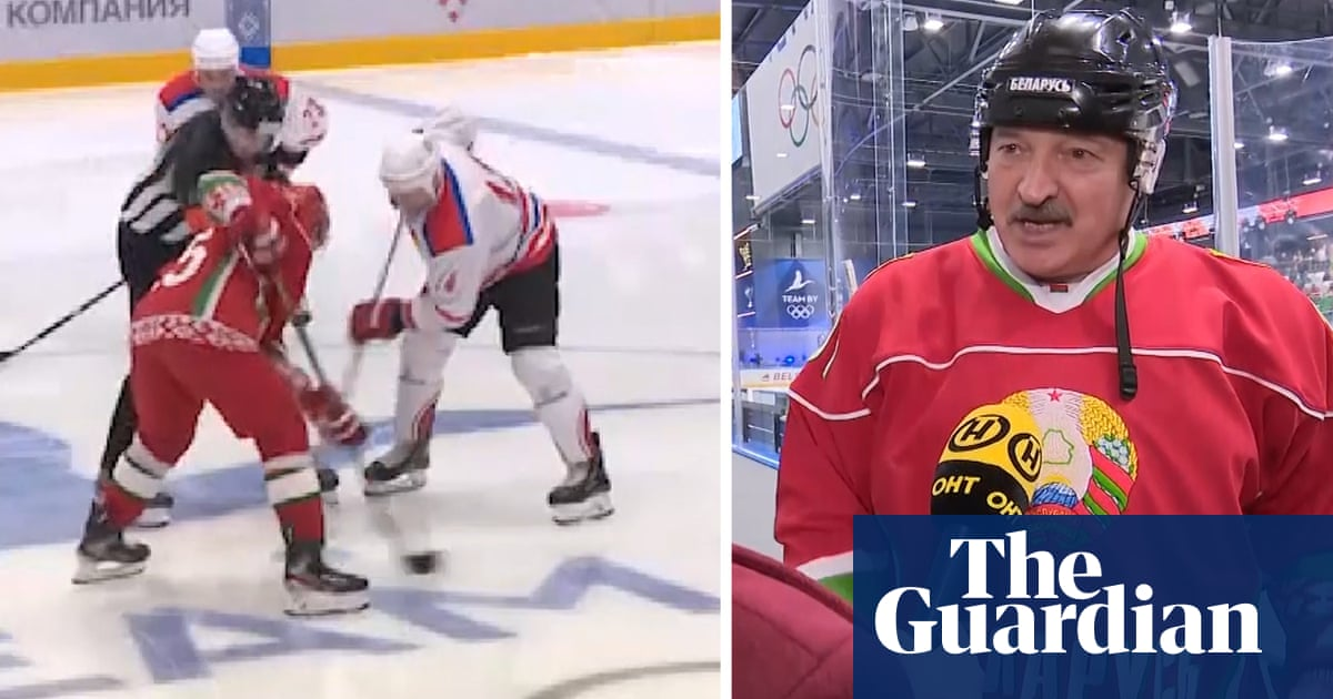 There are no viruses here: Belarus president plays ice hockey amid Covid-19 pandemic –video