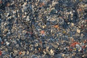 Industrial refuse landfill