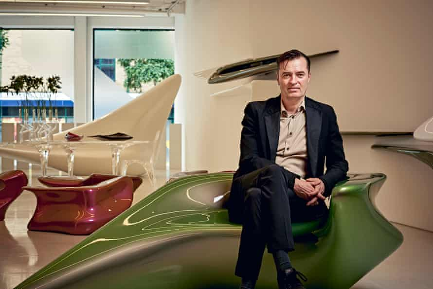 Patrik Schumacher, director of Zaha Hadid Architects, in the practice's design gallery: 'I very much miss Zaha's caring friendship, her energy, her probing humour.'