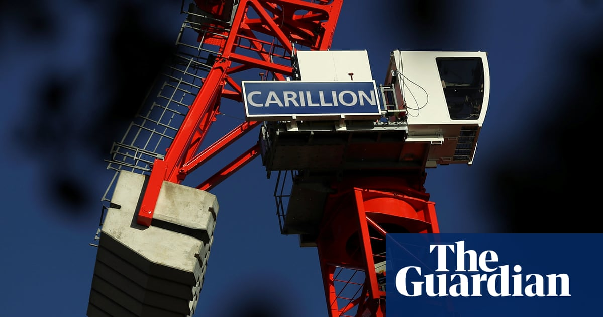 3eddff53e Carillion was in trouble by mid-2016, says whistleblower | Business | The  Guardian