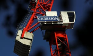 Carillion, a major government contractor, went into administration earlier this year.