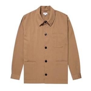 Beige workwear style, £195, sunspel.com.