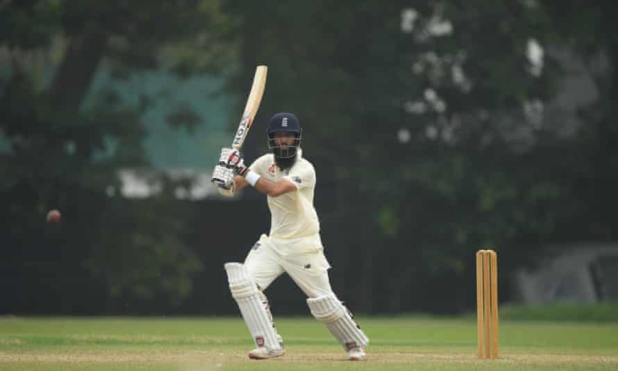 Moeen Ali could bat at No 3 in the first Test against Sri Lanka.