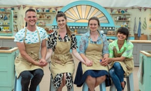 Who will make it to the final three? The Great British Bake Off.