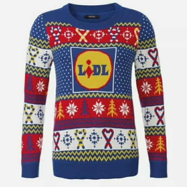 Lidl now sells its own seasonal jumper.