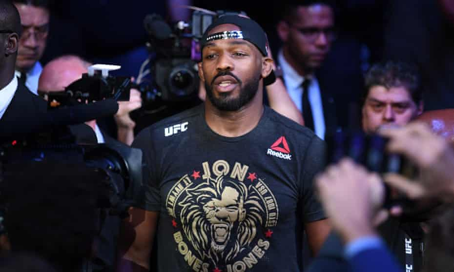 Jon Jones has been in trouble with the law in the past