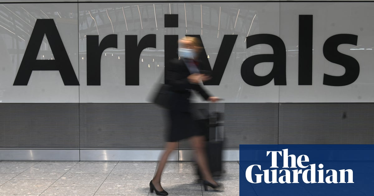 Business leaders arriving in England granted exemption from Covid quarantine