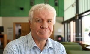 The deputy vice-chancellor of James Cook University, Iain Gordon.