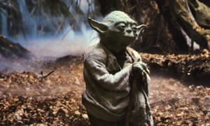 Feed me, you must': Yoda in The Empire Strikes Back.