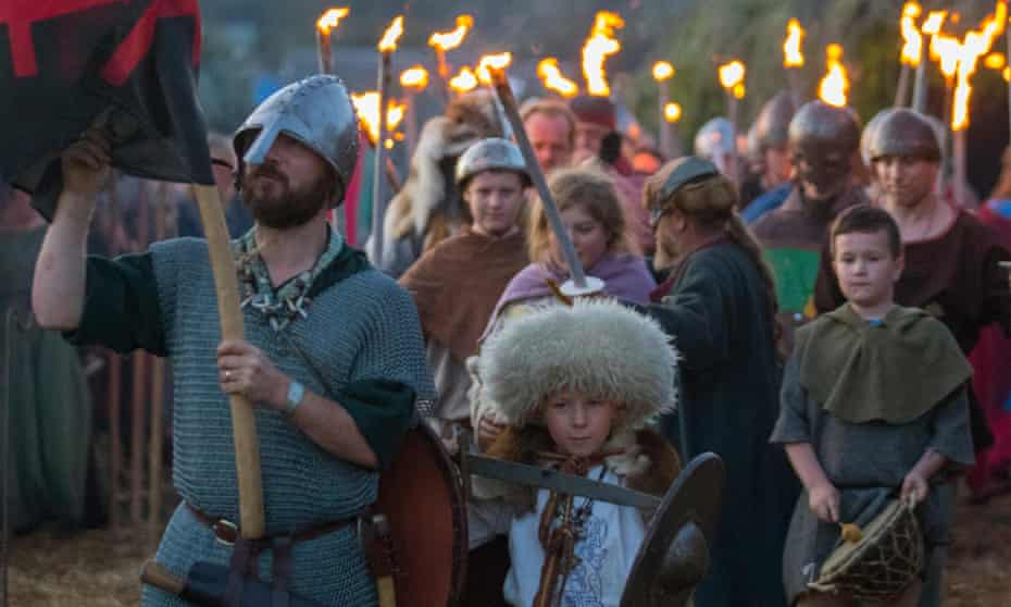 The Battle of Largs re-enactment event by the Swords of Dalriada,