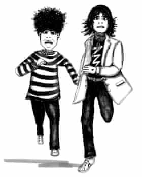 Escape the Rooms illustration Jack and Cally (c) Anita Mangan