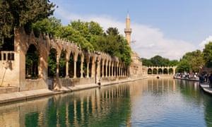 A river runs through it … the Rizvaniye Mosque, Şanlıurfa.