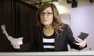 Sarah Palin as 'Lyn Melon' in the 30 Rock parody.
