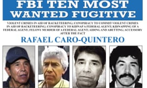 An FBI wanted poster for Rafael Caro Quintero
