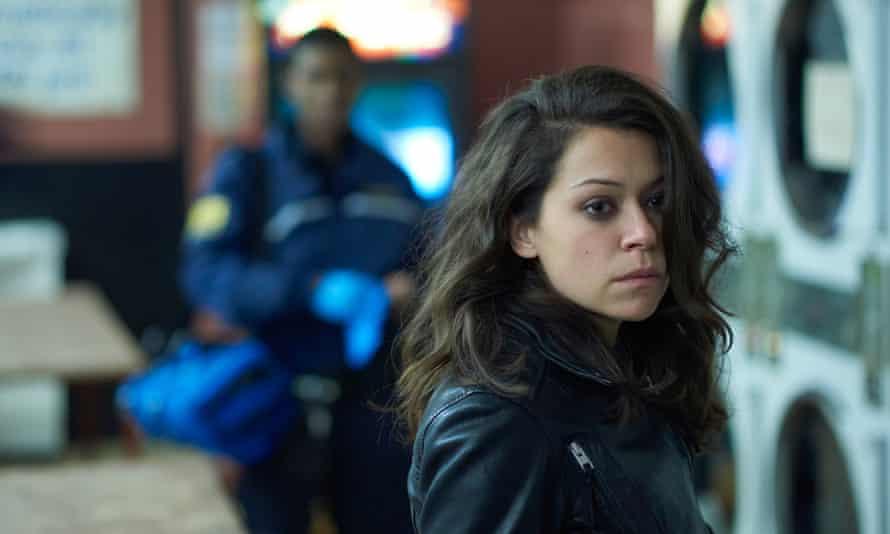 An addictive blend of revenge drama and sci-fi thriller … Orphan Black.