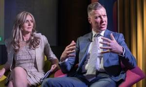 Birgitte Andersen and Mike Clancy