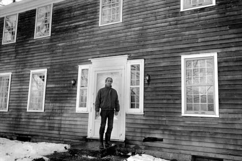 Roth in rural Connecticut, 1990.