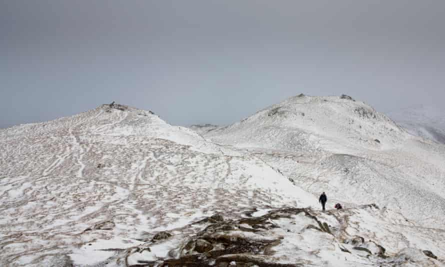 A view from the summit of Ben Vrackie, five miles from Pitlochry.