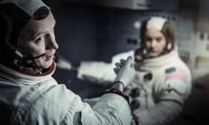 Rufus Wright as Neil Armstrong in 8 Days: To the Moon and Back.
