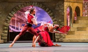 Denis Rodkin and Olga Smirnova in the Bolshoi Ballet's Don Quixote